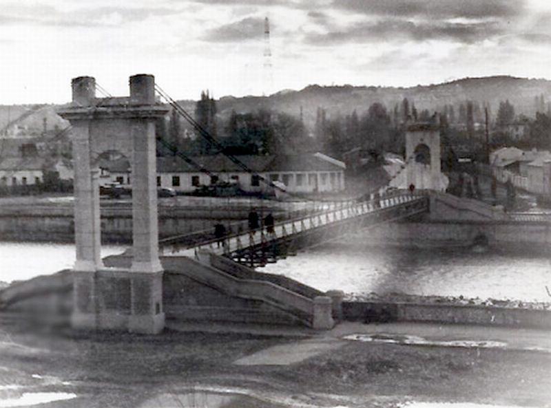 мост к Центральному рынку с ул.Чайковского