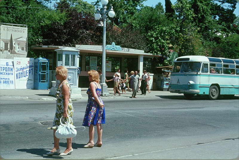 Таким увидел Сочи в 1964 г. французский ученый, друг СССР Жак Дюпакье