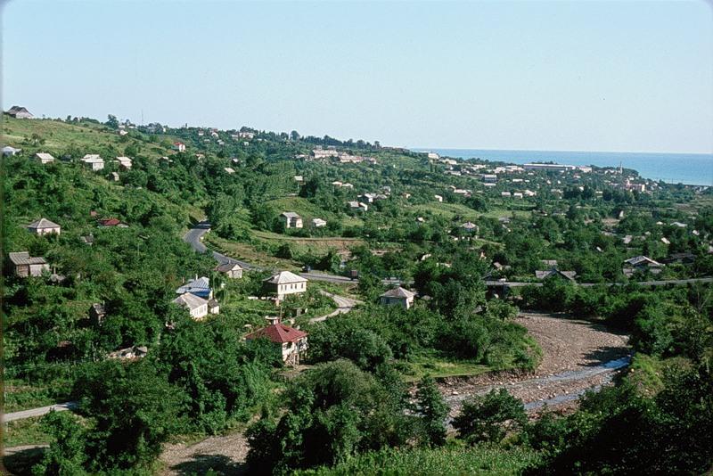 пейзаж в Сочи