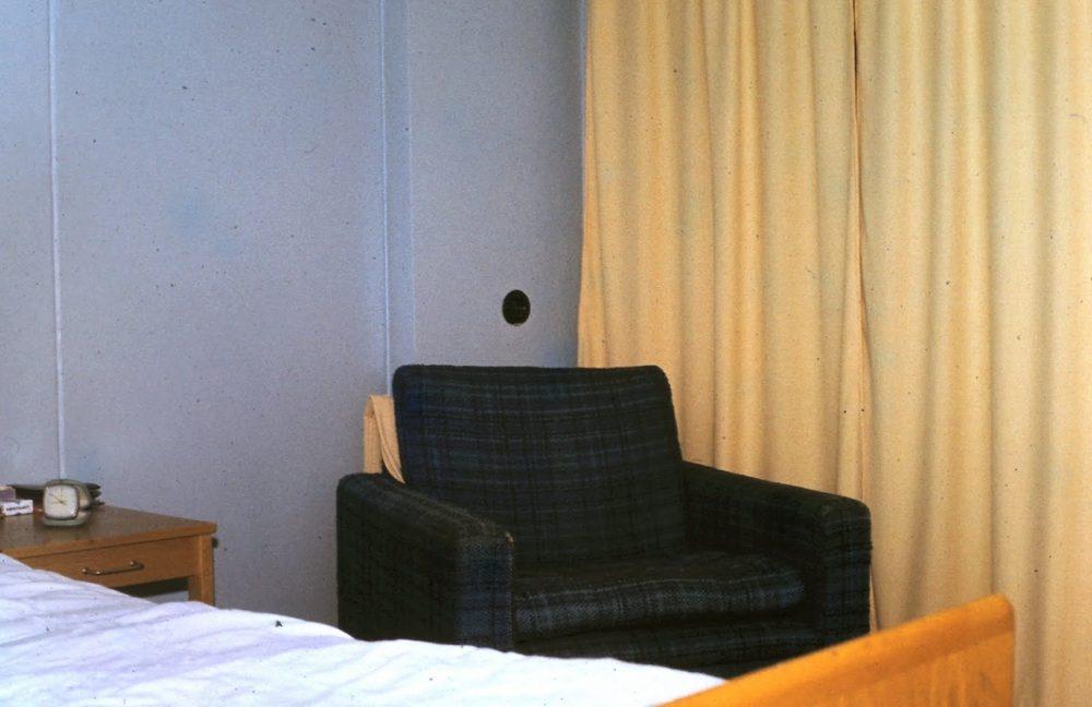 В номере гостиницы