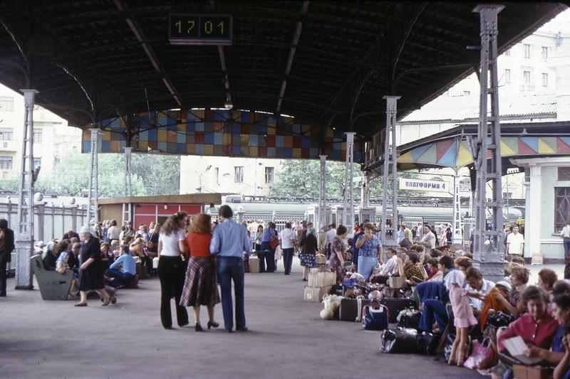 На Белорусском вокзале в Москве