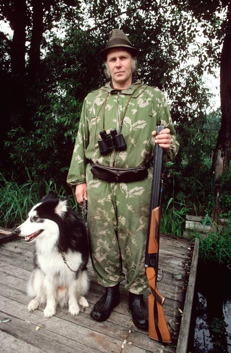 Член Рижского охотничьего клуба