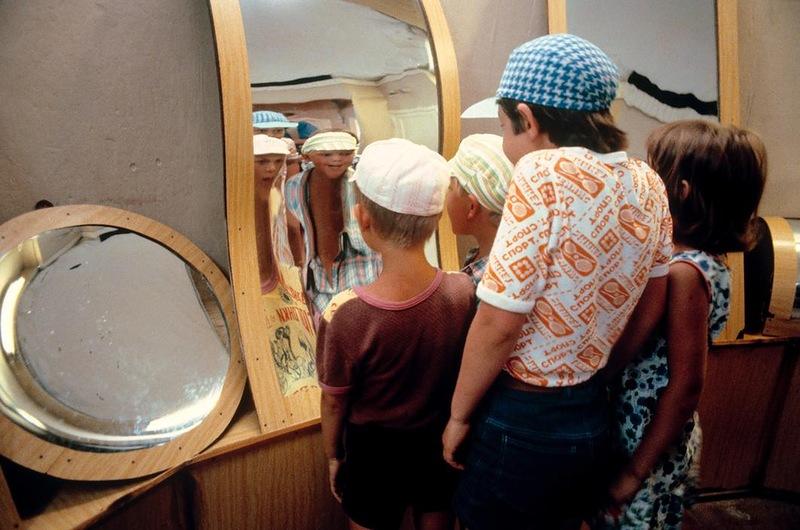 Комната кривых зеркал в Сочи