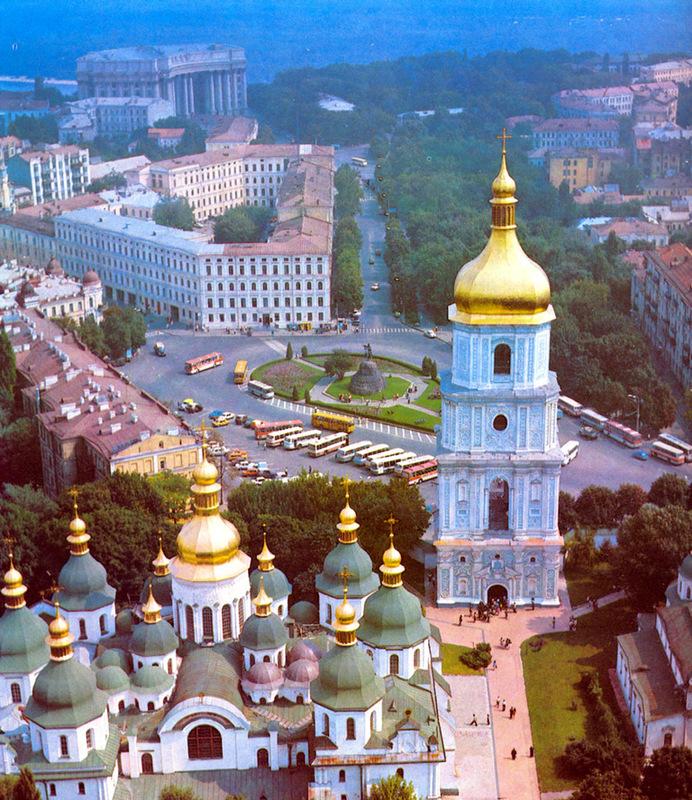 Софийская площадь в Киеве-81-г