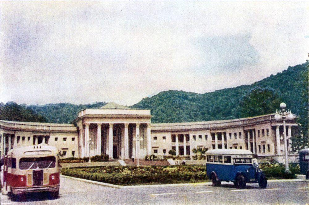 Серия открыток 1953 года.