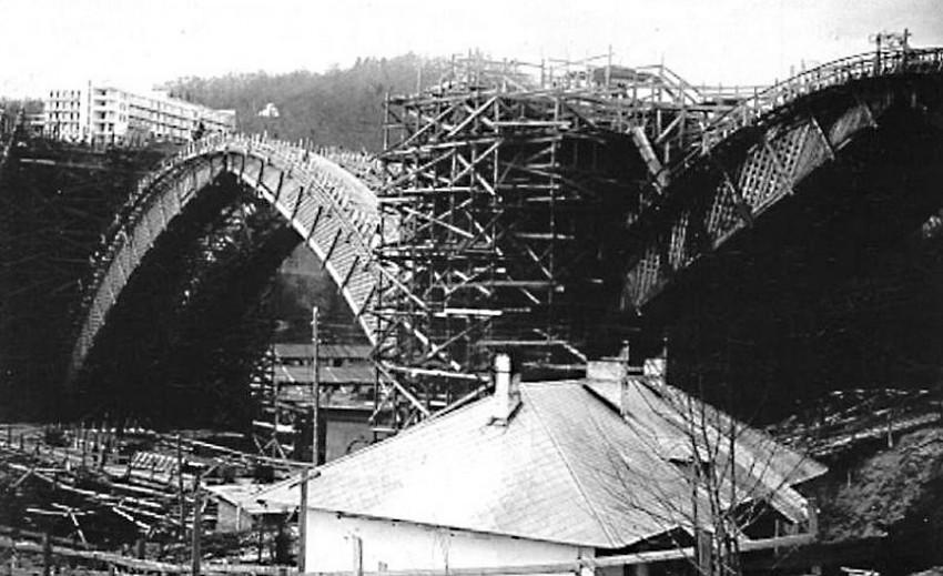 Строительство Мацестинского виадука