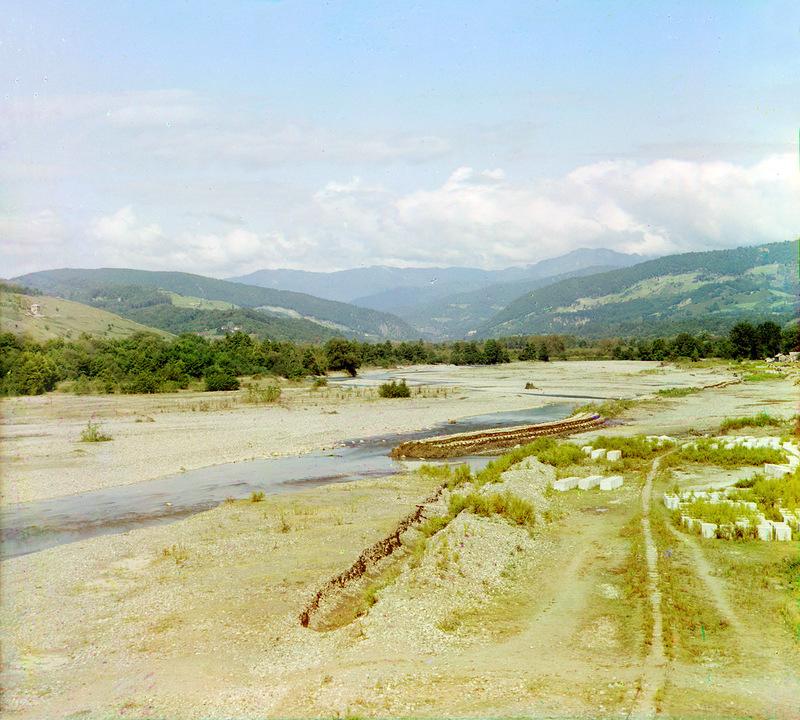 Река Сочи в 1912 г.