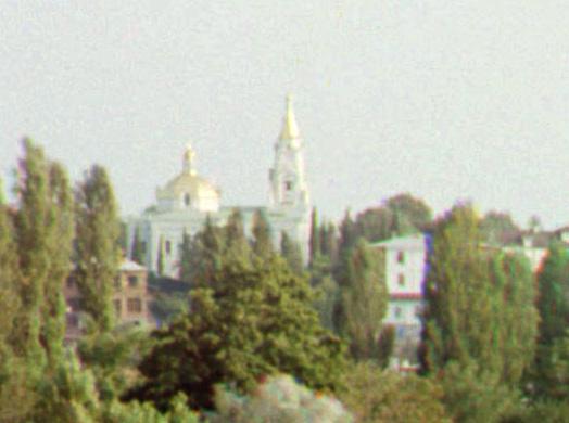 Храм Михаила Архангела, по которому мне удалось в 2009 г. идентифицировать снимок