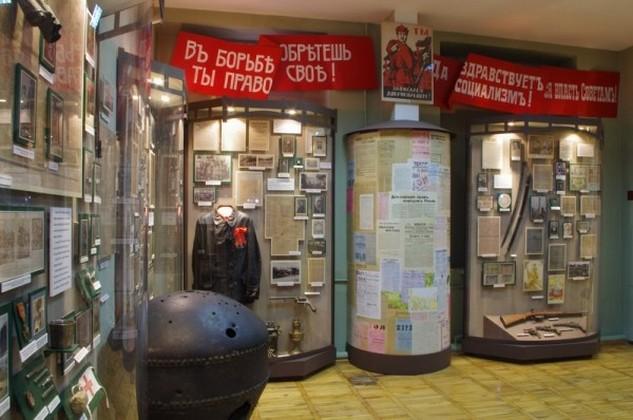 Экспозиция Сочи в период трех революций и гражданской войны