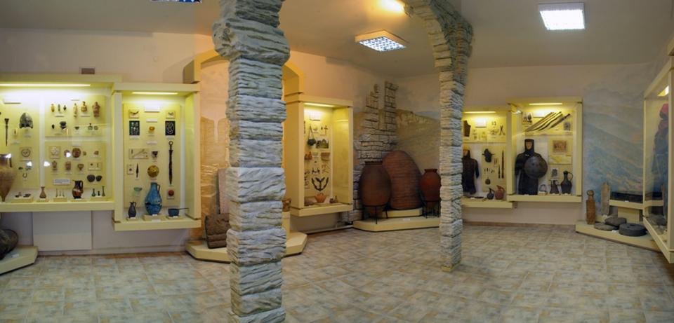 Экспозиция Археологические памятники Сочинского региона