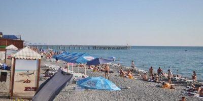 Пляж Прозрачный