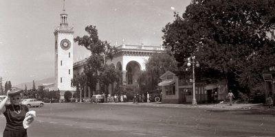 Сочи, архитектура Дагомыса 1959 год