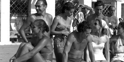 Старые фотографии пляжей Сочи и Крыма