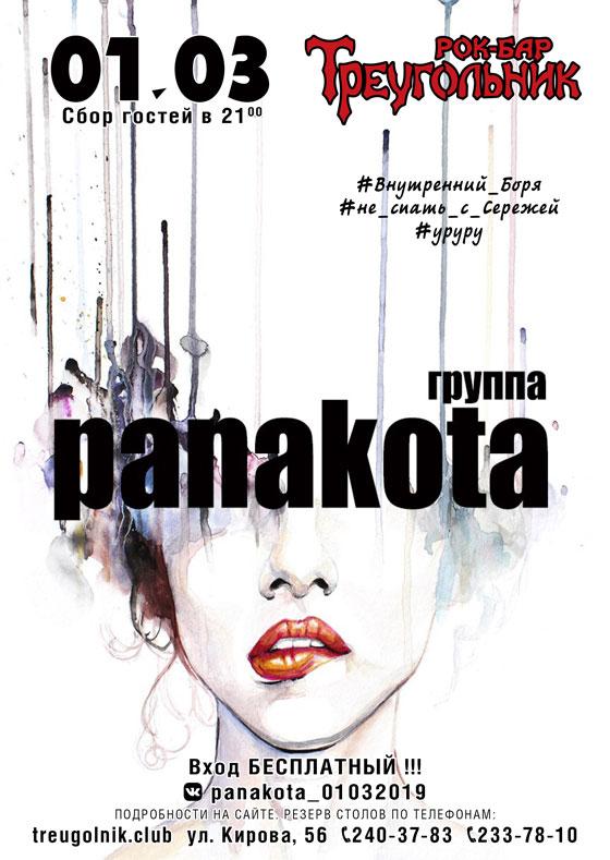Концерт группы panakota