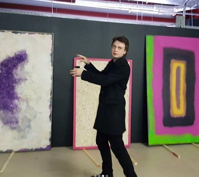 Выставка Владимира Гирза