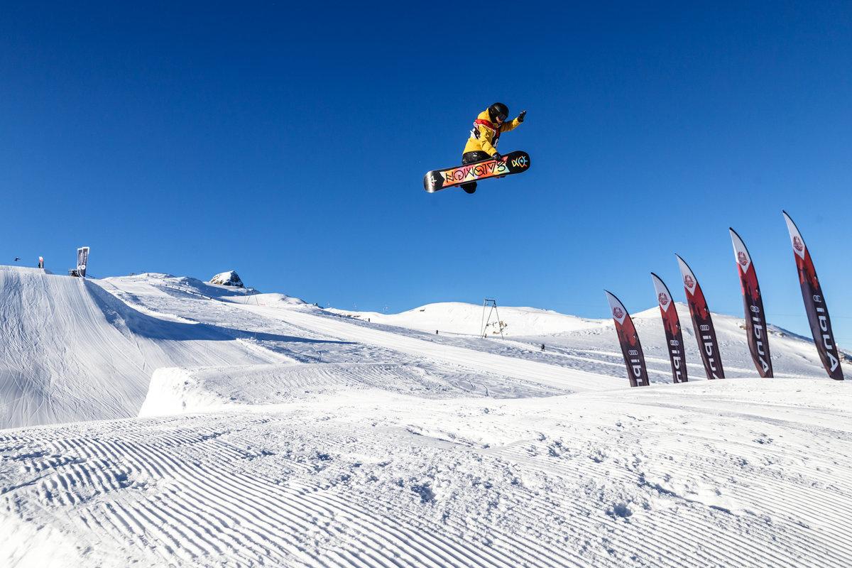 Кубок России по сноуборду Слоупстайл