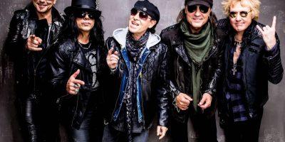 Концерт группы The Scorpions