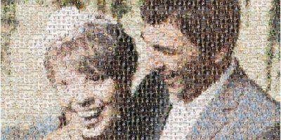 Создание фотокартины из множества ваших фотографий в фотостудии «Фото-Плакат» со скидкой до 70%